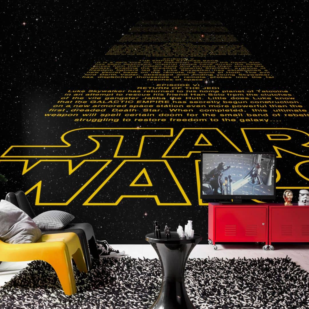 fototapete papiertapete star wars intro 8 487 wall. Black Bedroom Furniture Sets. Home Design Ideas