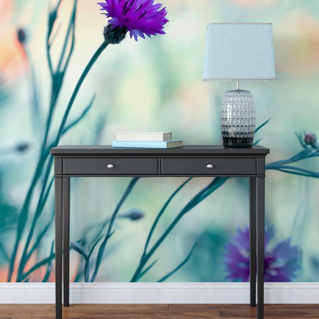 Bravin - Luminous Purple - Photo Wallpaper