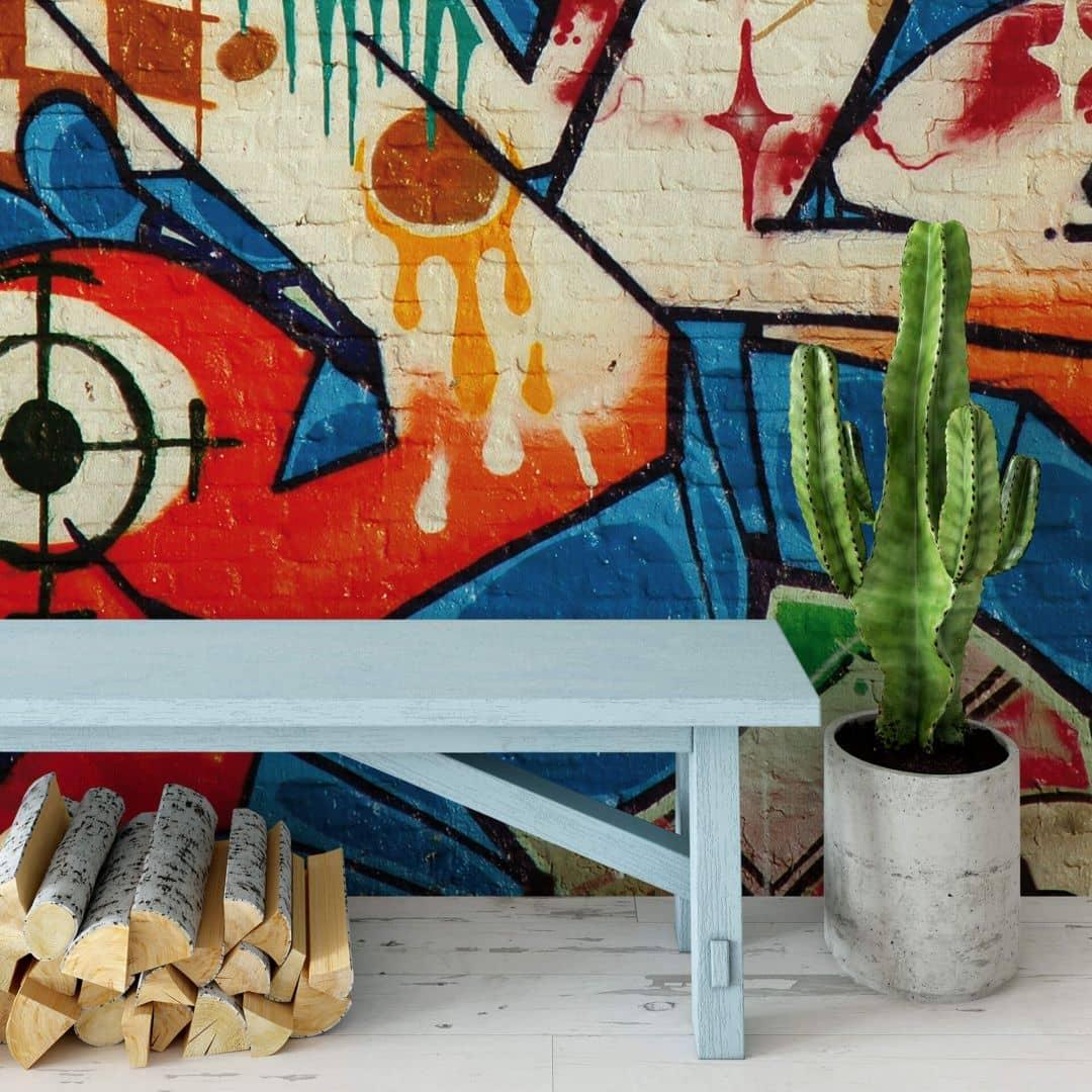 fototapete graffiti von k l wall art wall. Black Bedroom Furniture Sets. Home Design Ideas