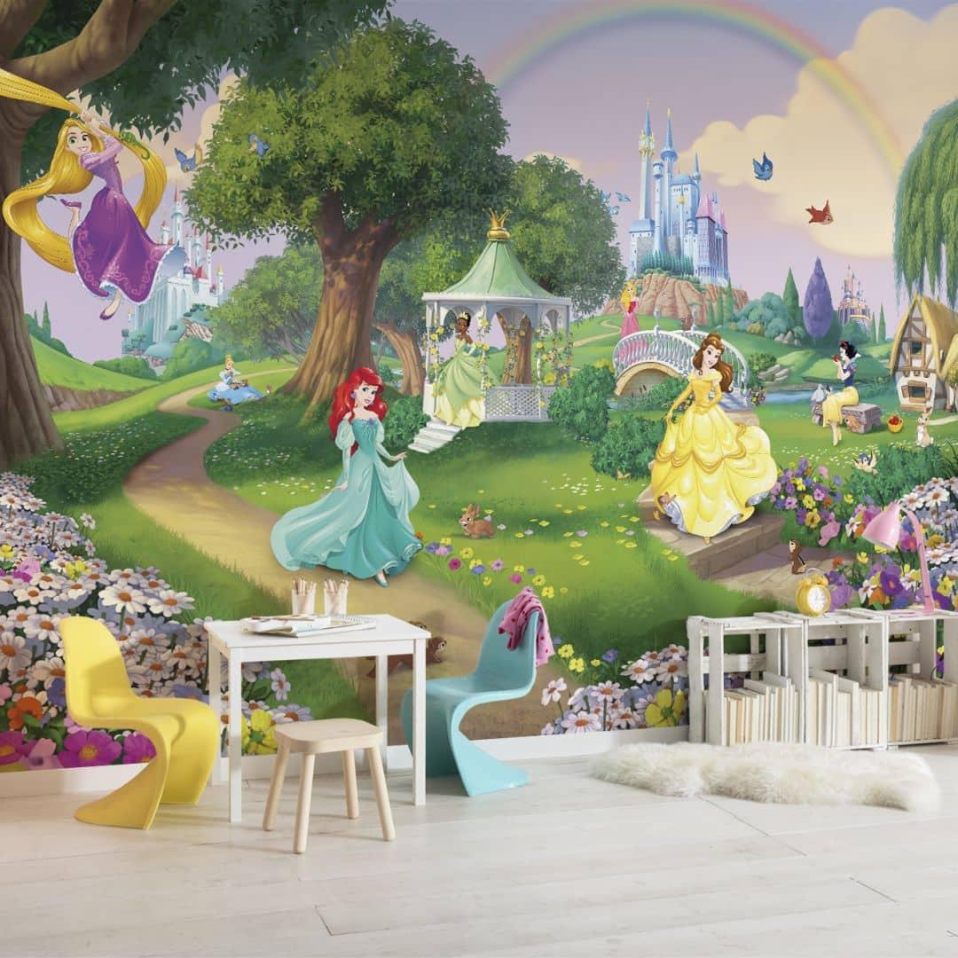 Komar Fototapete Disney Princess Regenbogen 8-449   wall-art.de