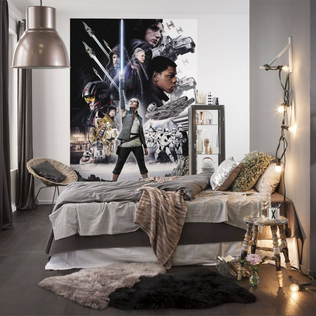 papier peint photo star wars wall. Black Bedroom Furniture Sets. Home Design Ideas