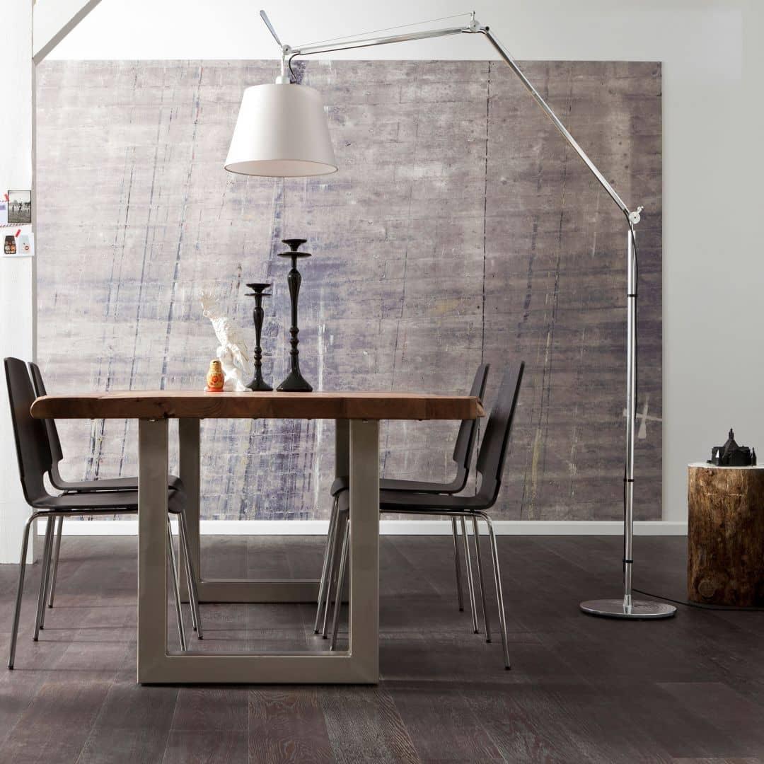Photo Wallpaper Fleece Concrete
