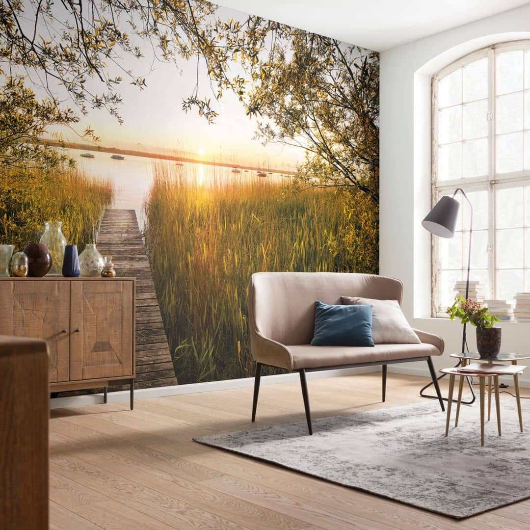 komar fototapete vliestapete lakeside xxl4 052 wall. Black Bedroom Furniture Sets. Home Design Ideas