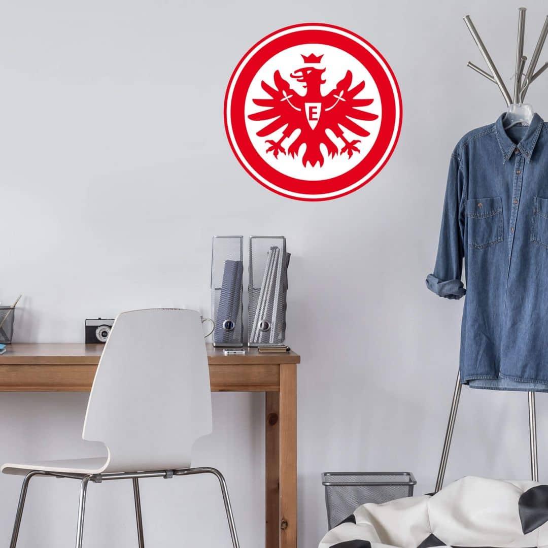 eintracht frankfurt wandaufkleber deko fuer frankfurt