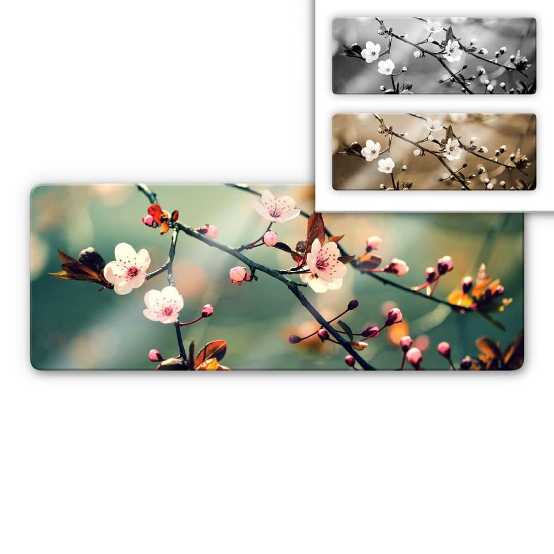 Glasschilderijen Ontwakend Voorjaar - Panorama