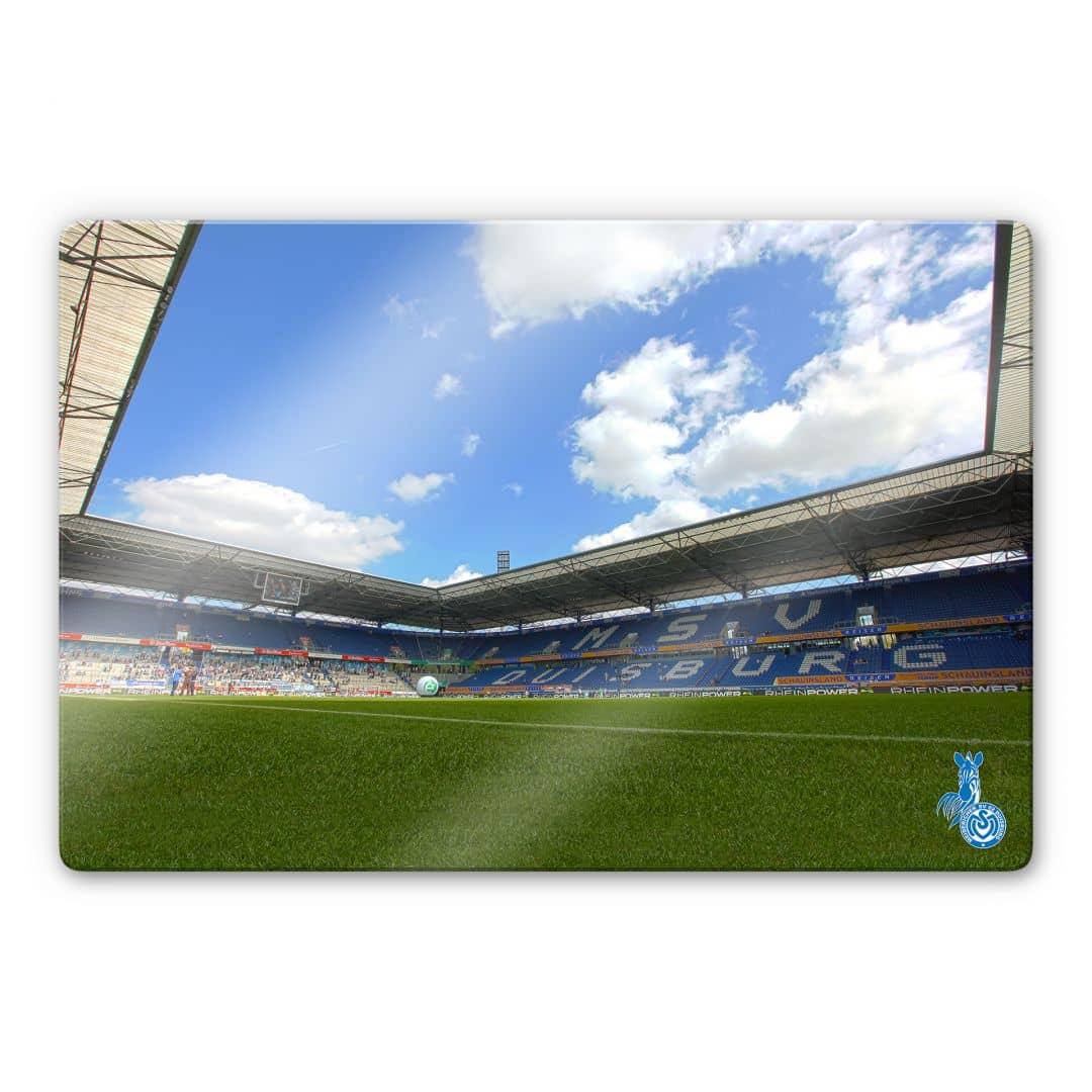 Glasbild MSV Duisburg Stadion - Wandbilder für Bundesliga ...