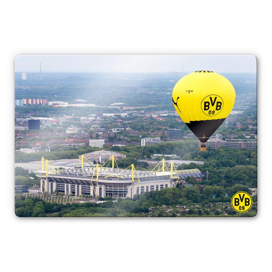 Heißluftballon In Dortmund: BVB Wandbilder - Heißluftballon
