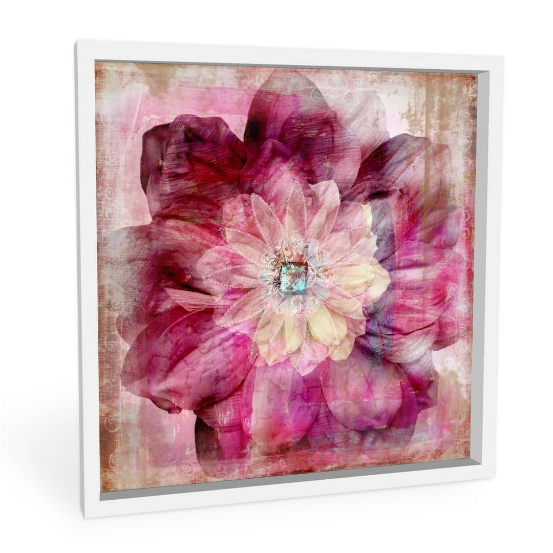 Wandbild Pink Peony