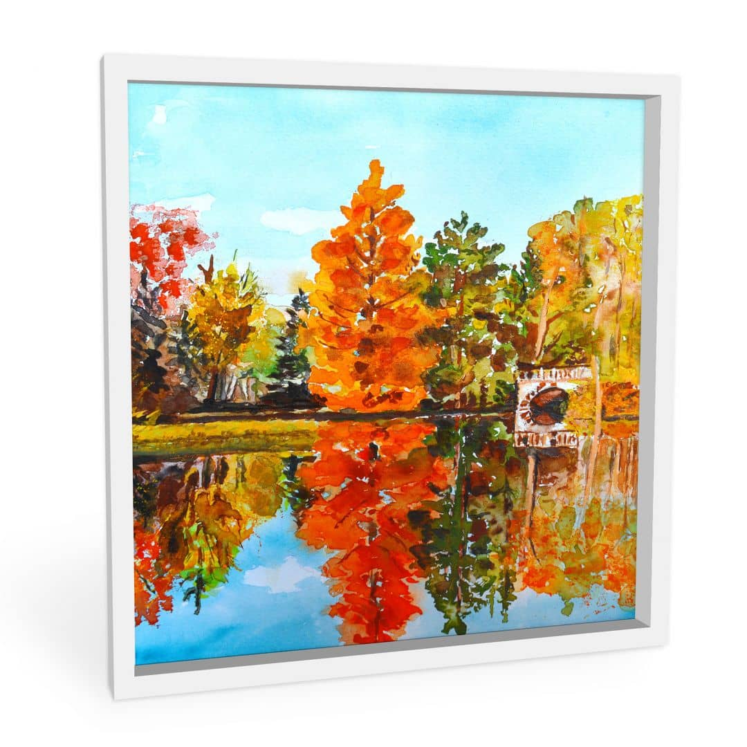 Wandbild Toetzke - Indian Summer - quadratisch