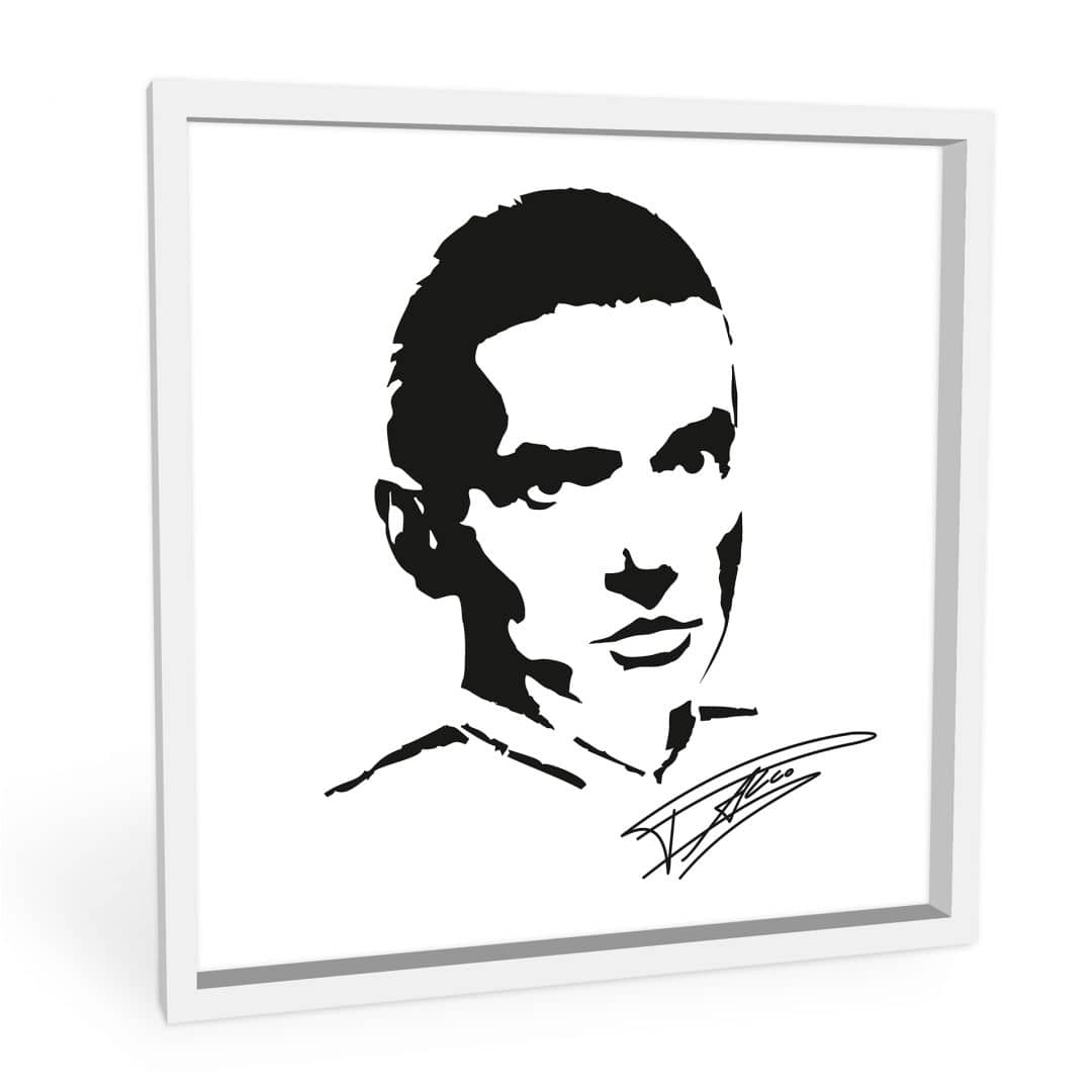 Wandbild Falco - quadratisch
