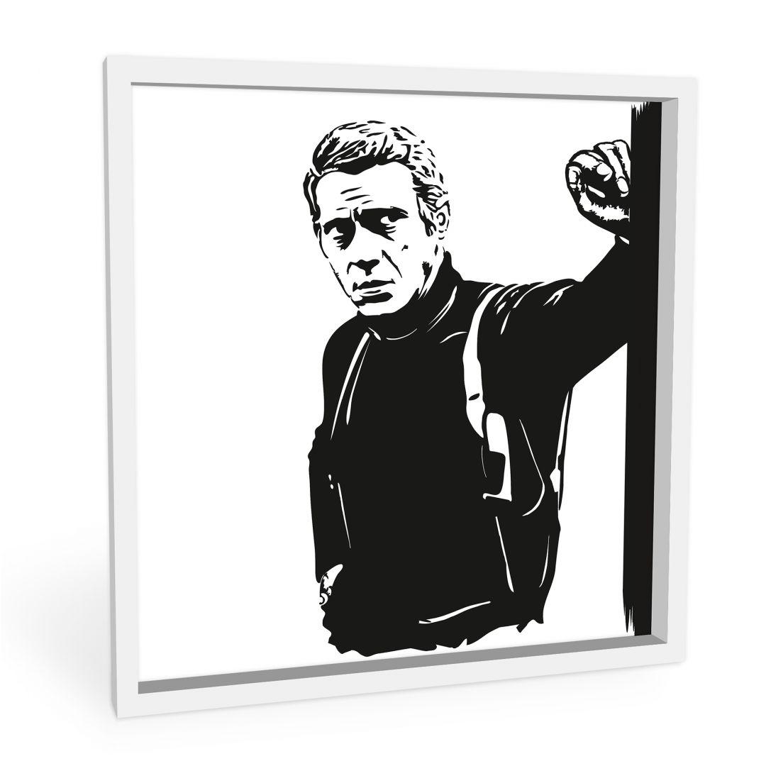 Wandbild Steve McQueen