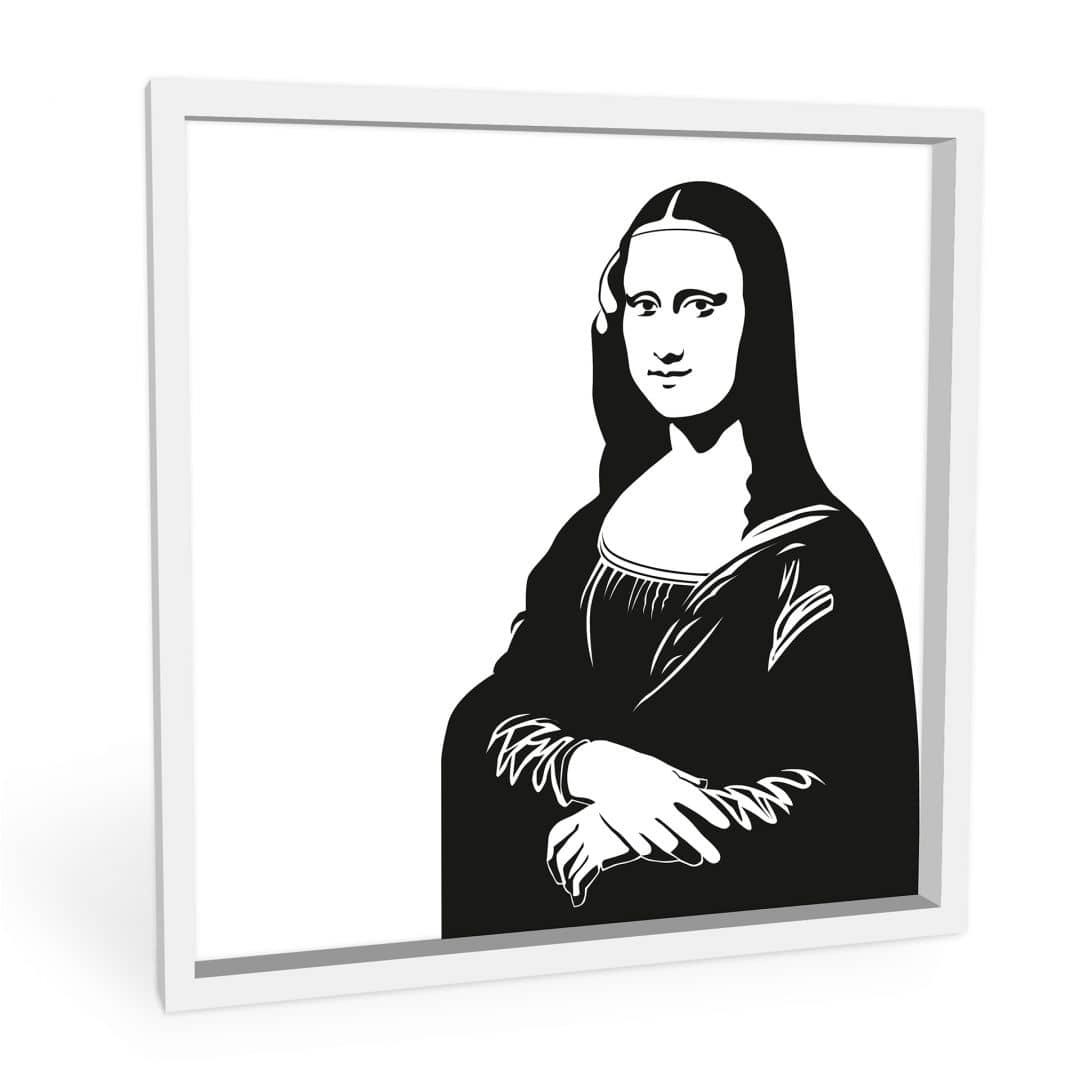 Wandbild Da Vinci - Mona Lisa