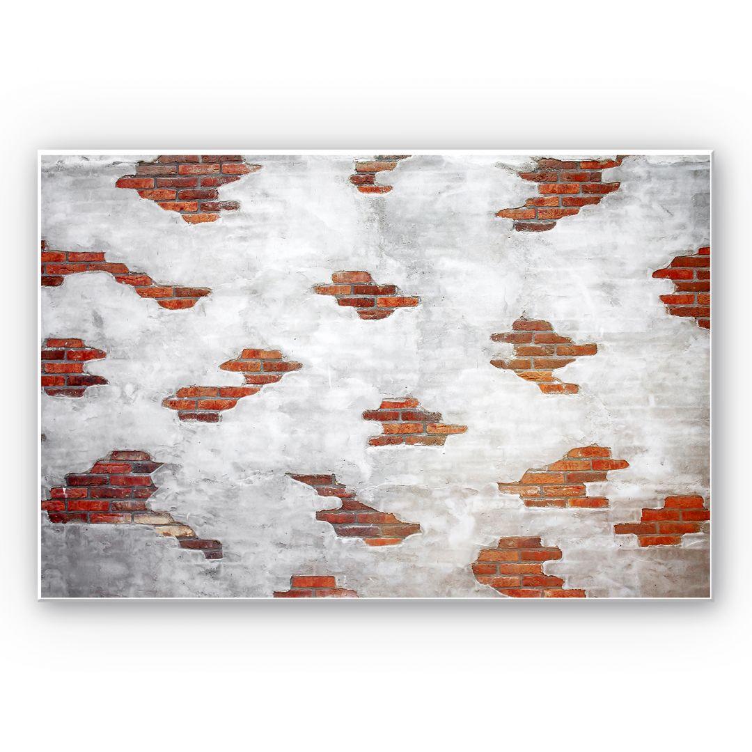tableau forex mur de briques wall. Black Bedroom Furniture Sets. Home Design Ideas