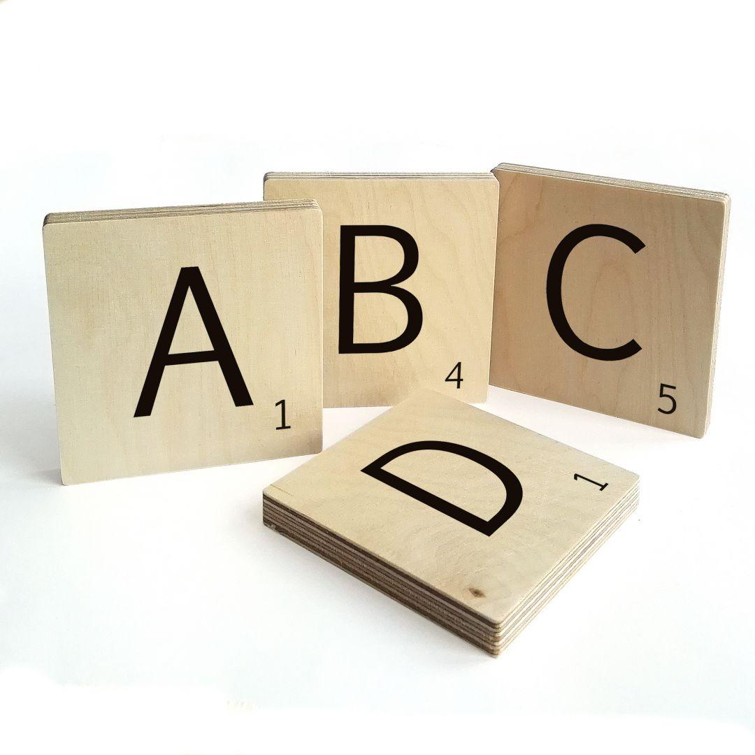 Decorative Letters Scrabble