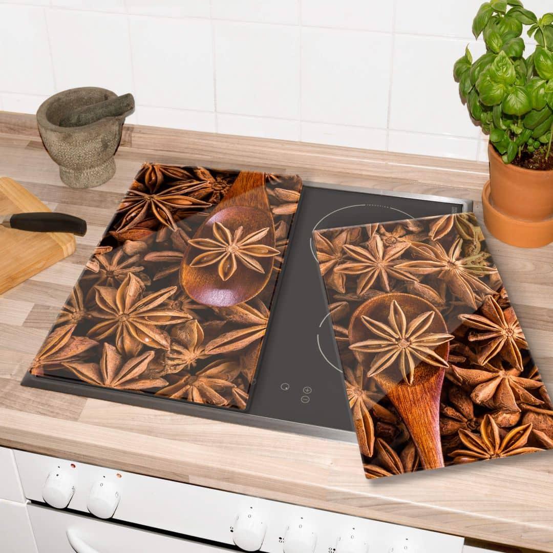 Plaque de protection cuisine anis toil wall - Plaque de protection murale pour cuisine ...