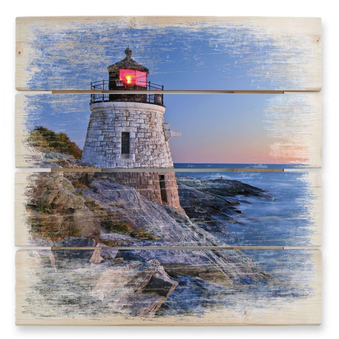 Seaview - Wood Print