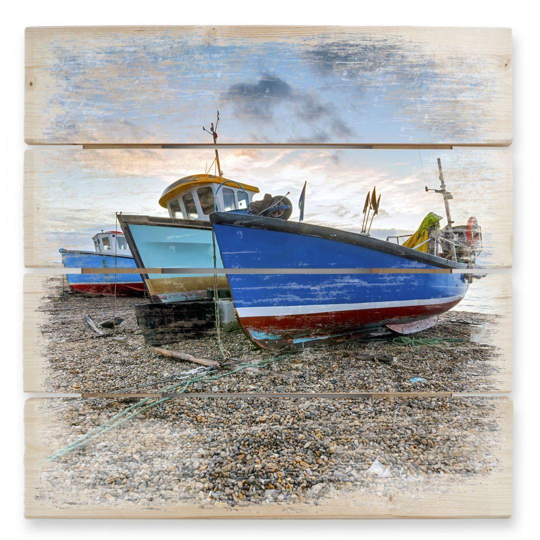 Stampa su legno barche da wall - Finestre per barche ...