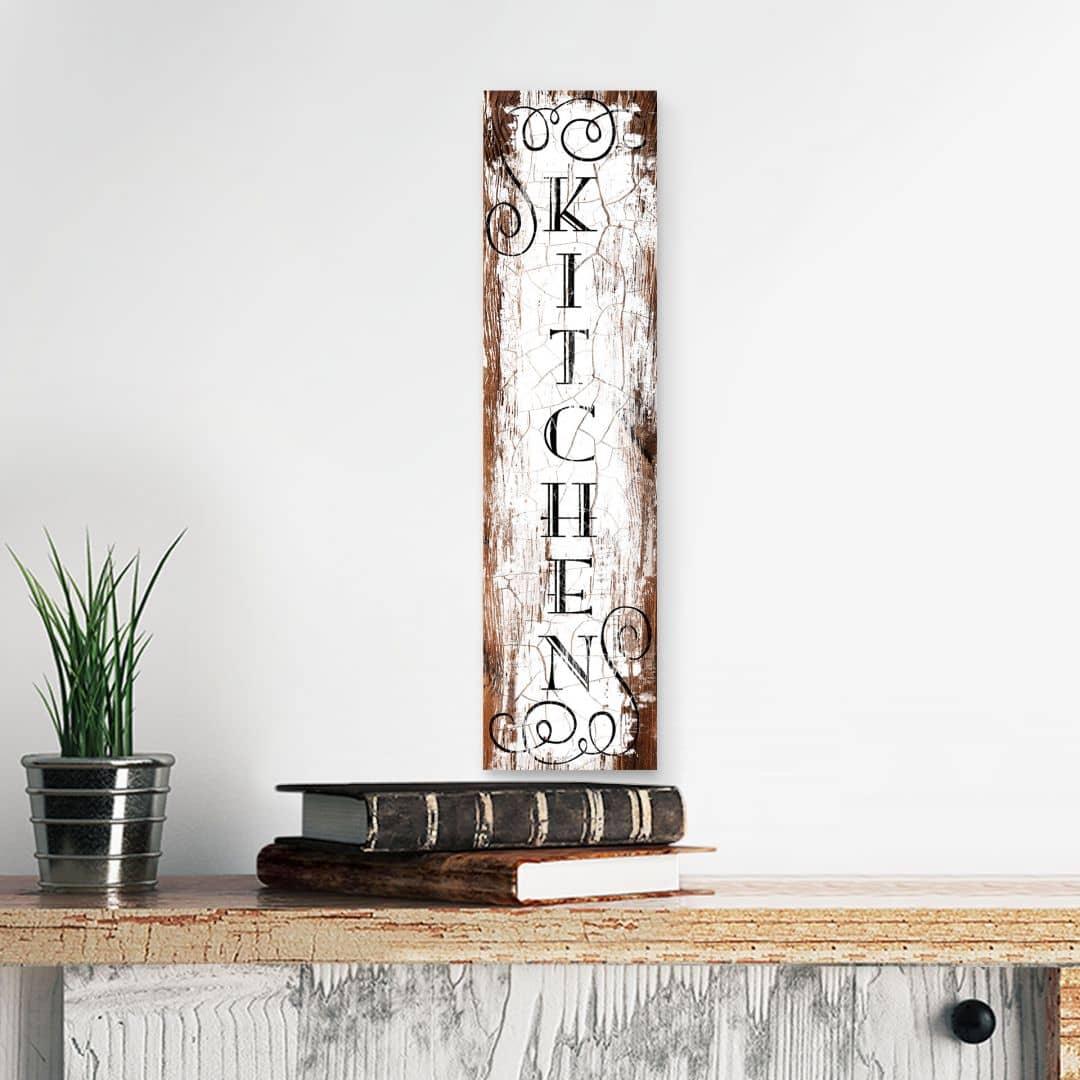 Holzschild Kitchen