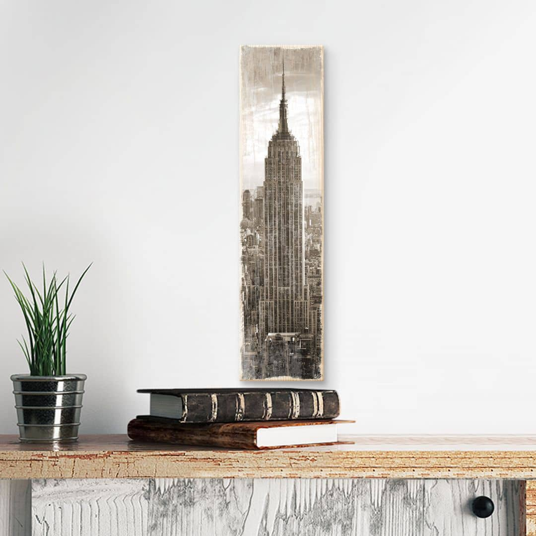 Houten Wanddecoratie The Empire State Building