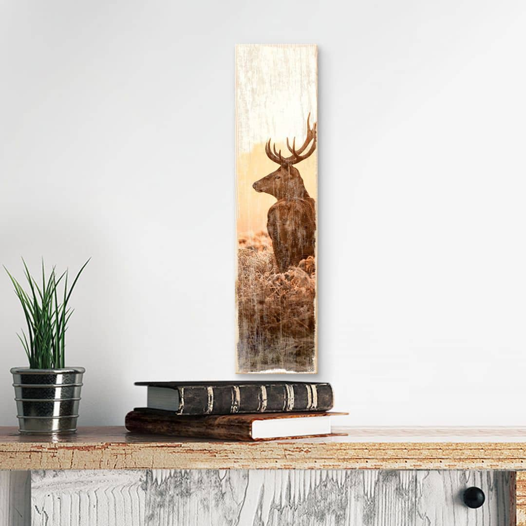 Wood Sign - Majestic Deer