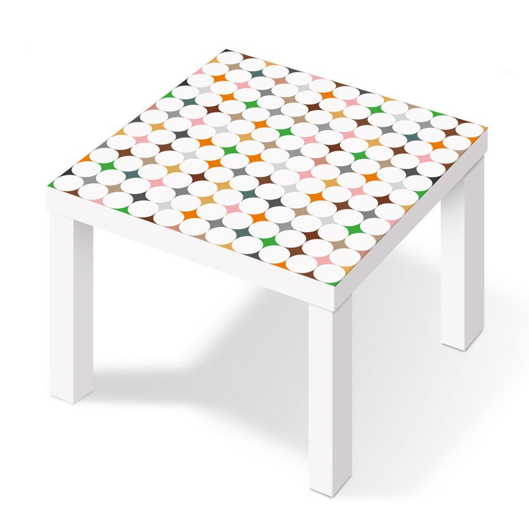 Pellicola adesiva punti in stile wall - Pellicola adesiva per mobili ikea ...