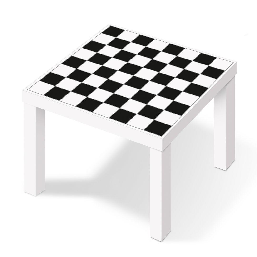 Pellicola adesiva motivo a scacchiera wall - Pellicole adesive per mobili ikea ...