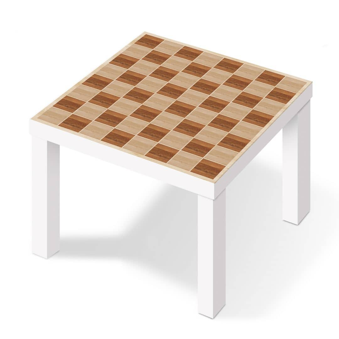Adhesive film for ikea lack wooden chess for Mobili ikea 3d