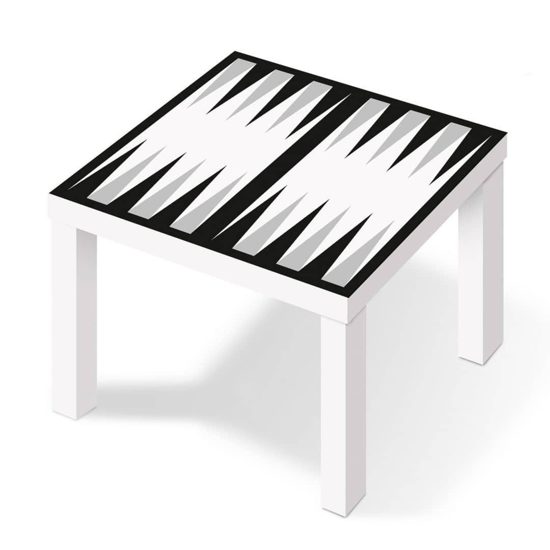 Pellicola adesiva backgammon in bianco wall for Pellicola adesiva mobili