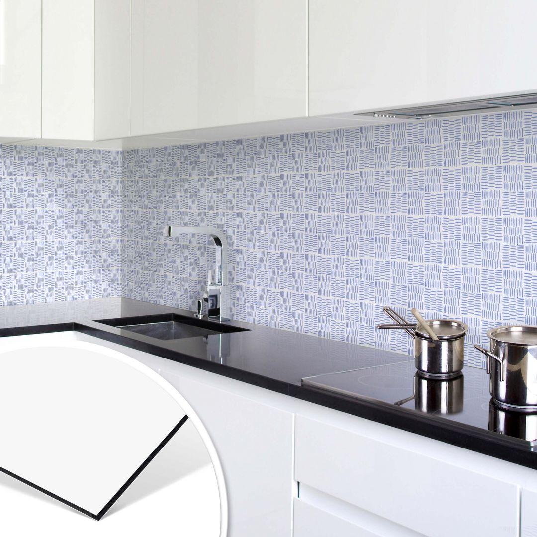 k chenr ckwand alu dibond frische brise wall. Black Bedroom Furniture Sets. Home Design Ideas