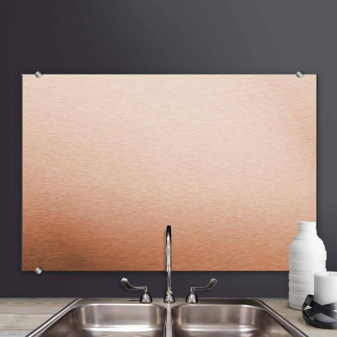 Aluminium Print Copper Splashback – Classic