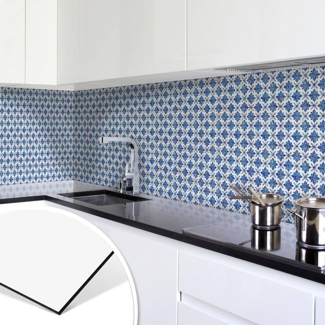 Rivestimento cucina alu dibond piastrelle wall - Rivestimento cucina piastrelle ...
