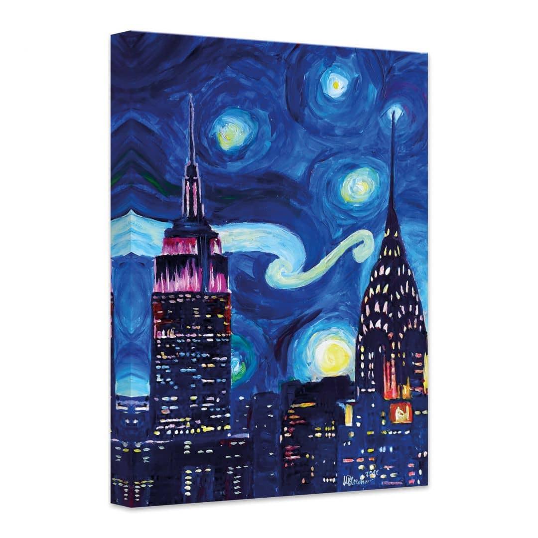 canvas bleichner � new york bij nacht