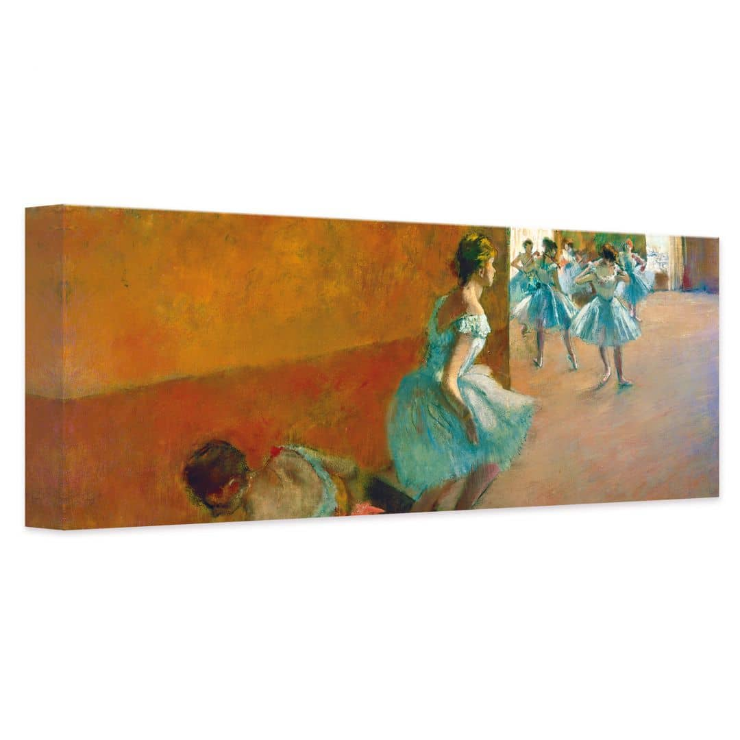 tableau sur toile degas danseuses wall. Black Bedroom Furniture Sets. Home Design Ideas