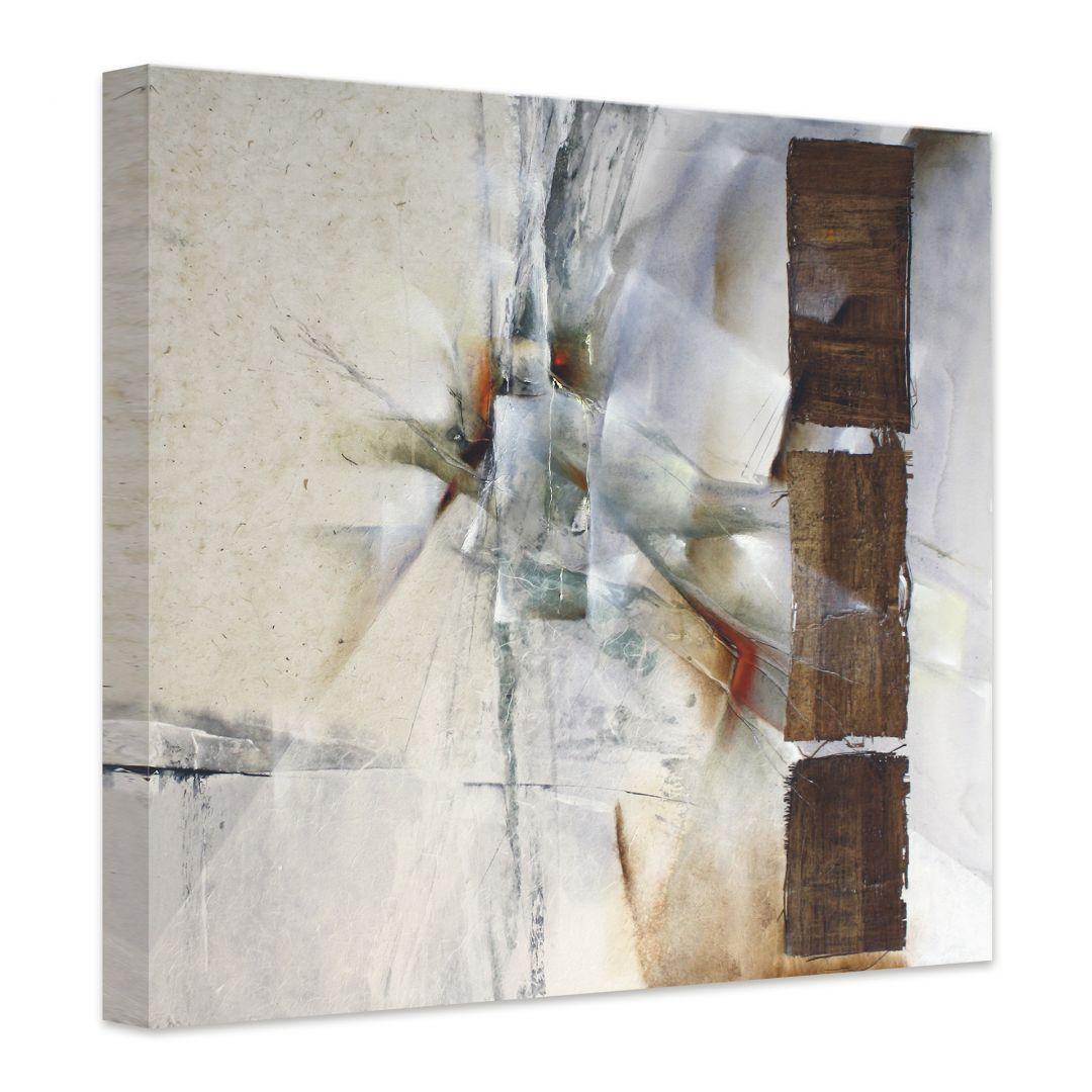 leinwandbild schmucker weisse komposition wall. Black Bedroom Furniture Sets. Home Design Ideas