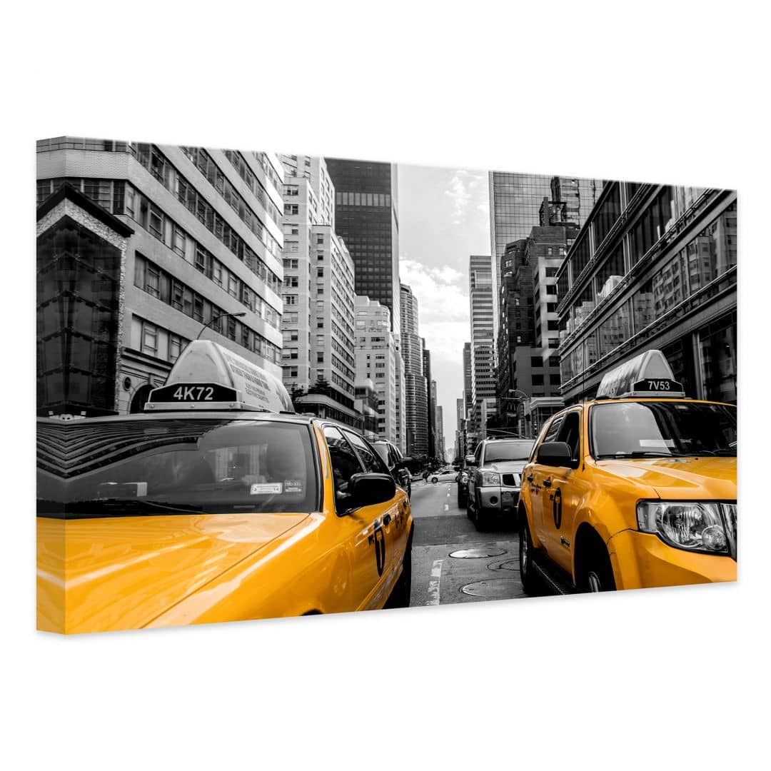 leinwandbild streets in new york city wall. Black Bedroom Furniture Sets. Home Design Ideas