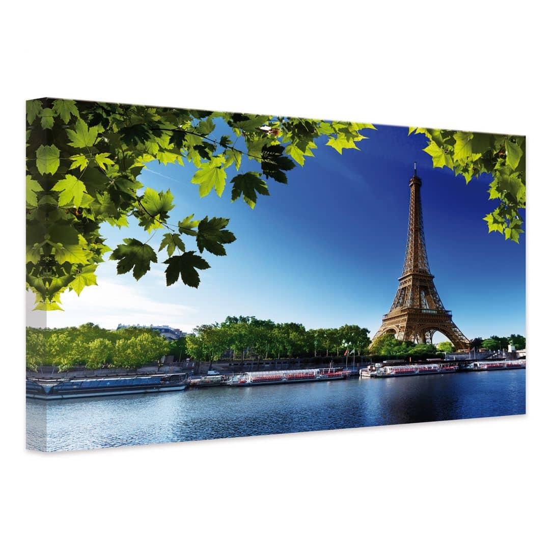 Summer In Paris Canvas Print Wall Art Com