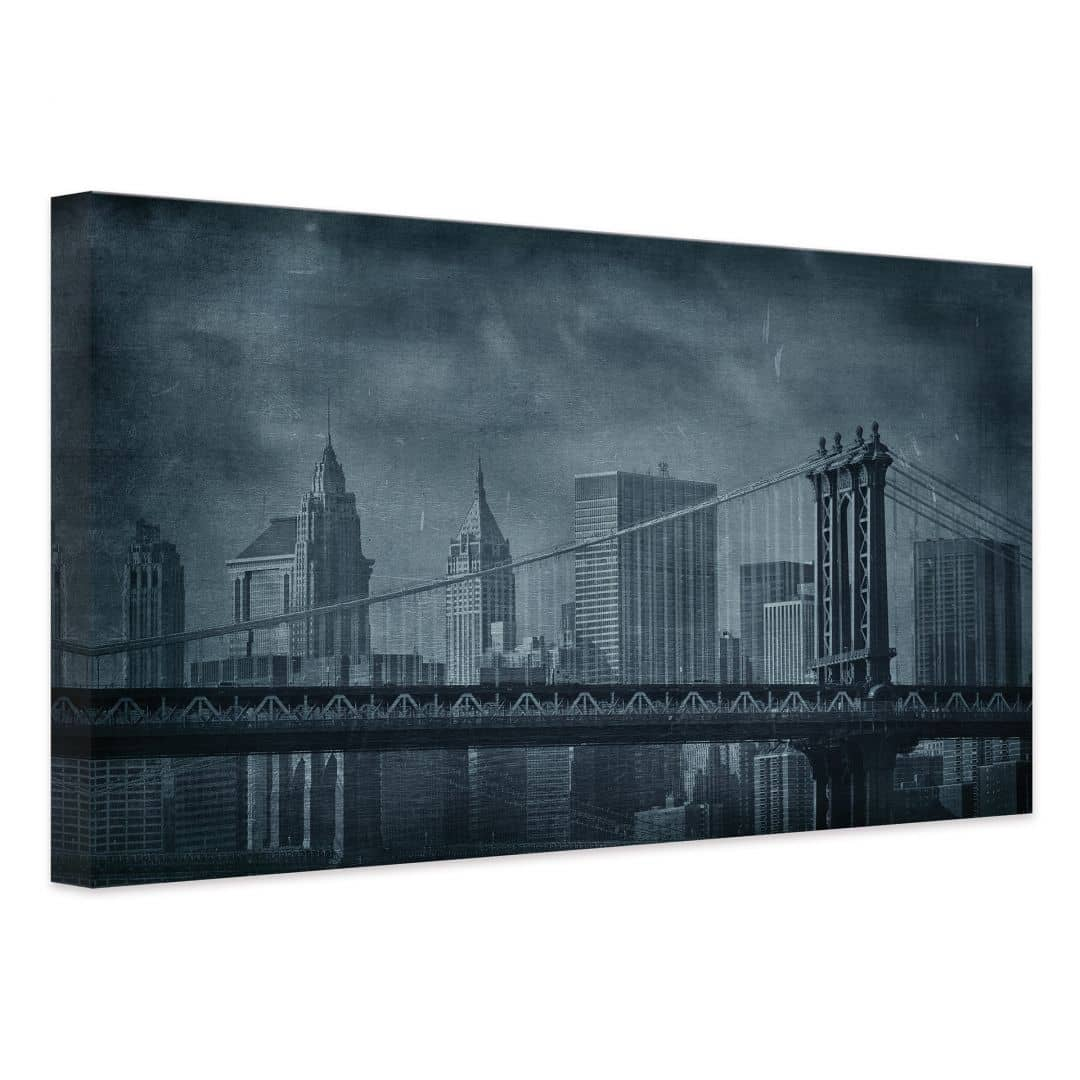 Tableau sur toile new york wall - Tableau toile new york ...