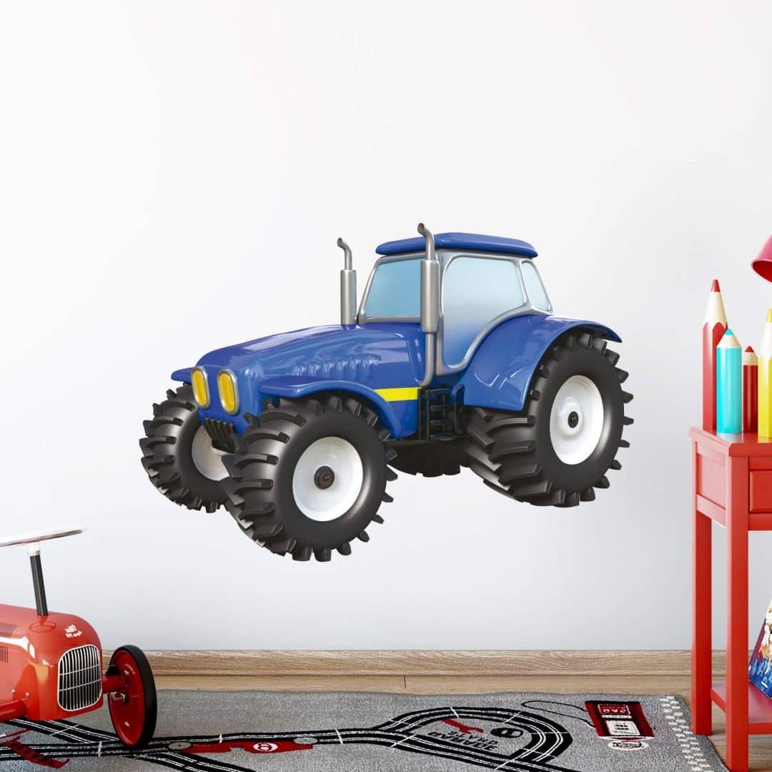 Muursticker Michel Agullo - Tractor