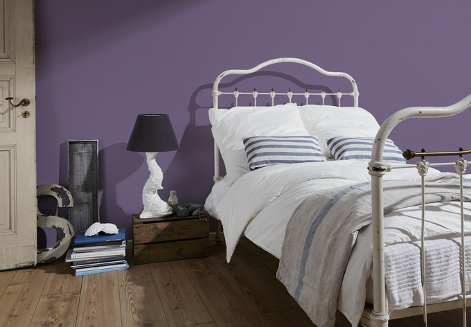 A.S. création pattern wallpaper master fleece the smooth wall of violet