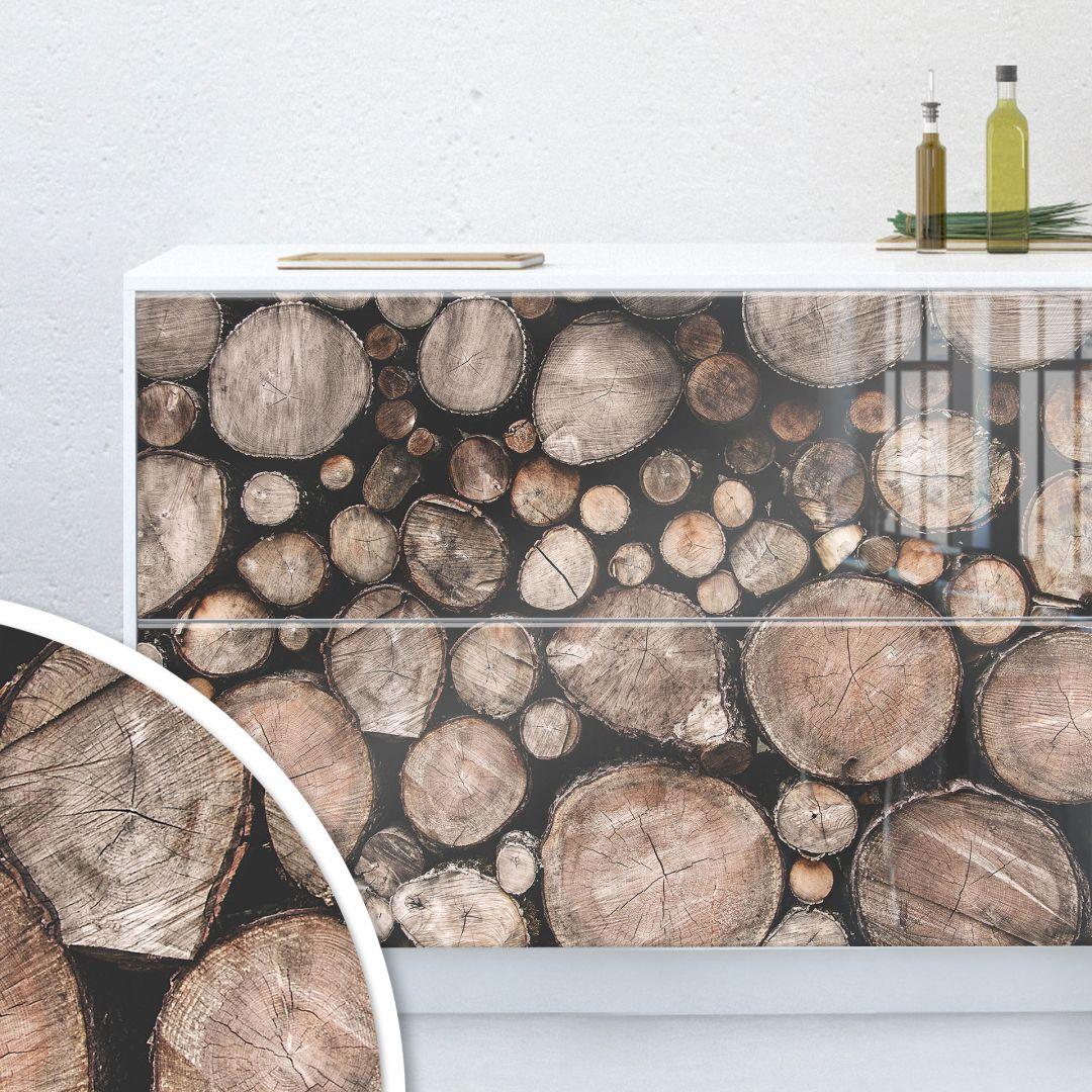 Möbelfolie, Dekofolie - abwischbar - Holz 08