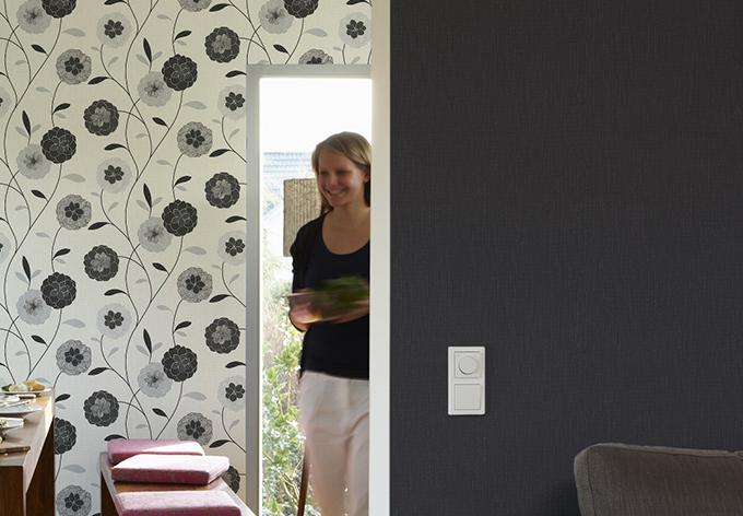 A.S. Création Strukturprofiltapete Black & White 3 metallic