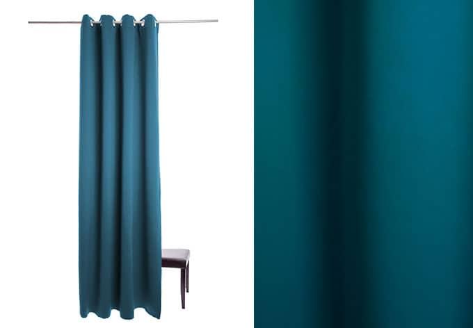 Homing Ösenschal Denton - blau