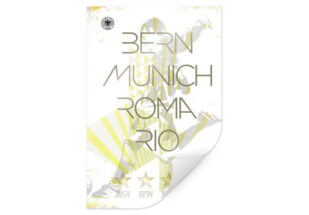 Poster DFB - Weltmeister Deutschland