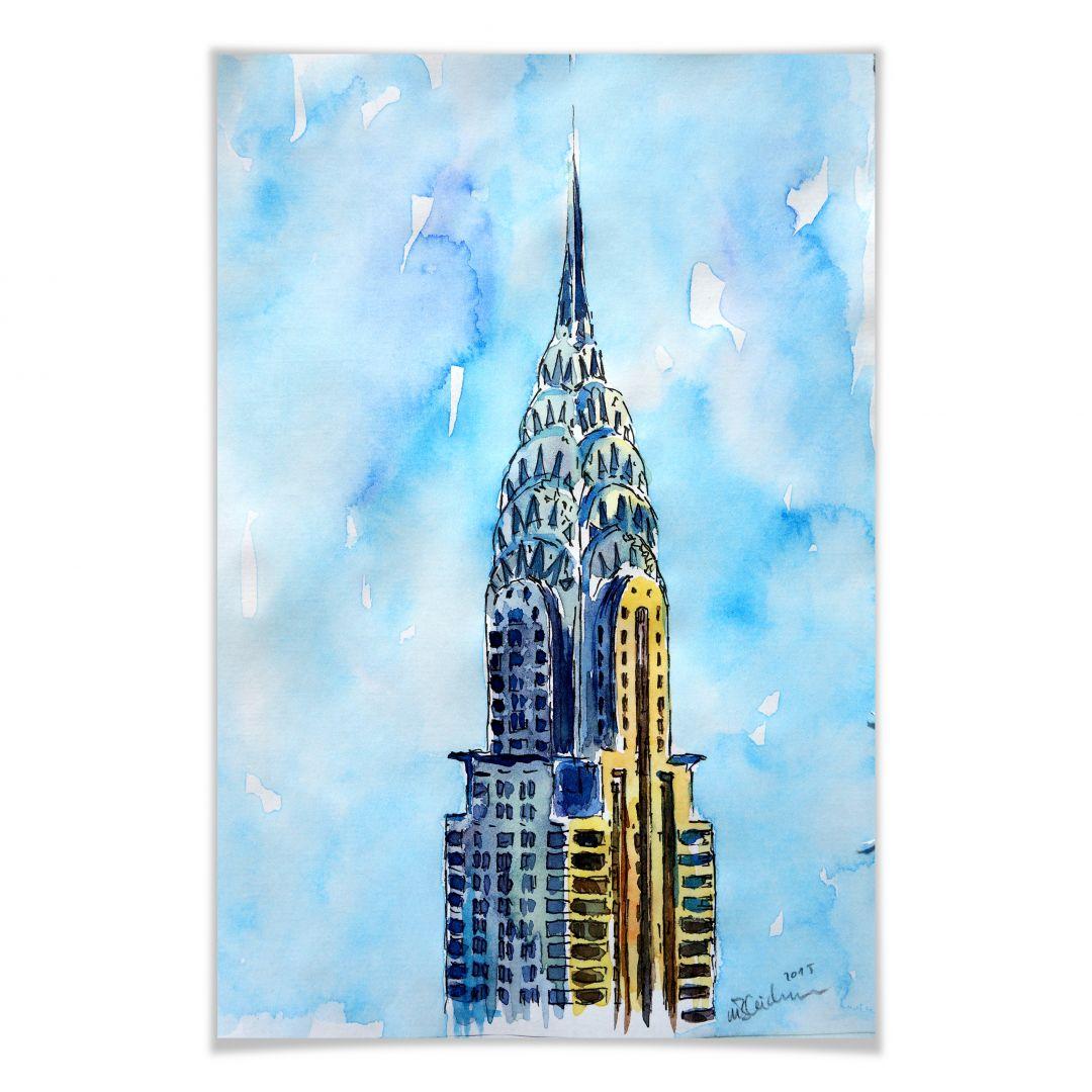 Il Grattacielo Chrysler A New York City