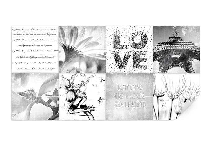 Poster impressioni di una vita di ragazza for Piastrelle 200x100