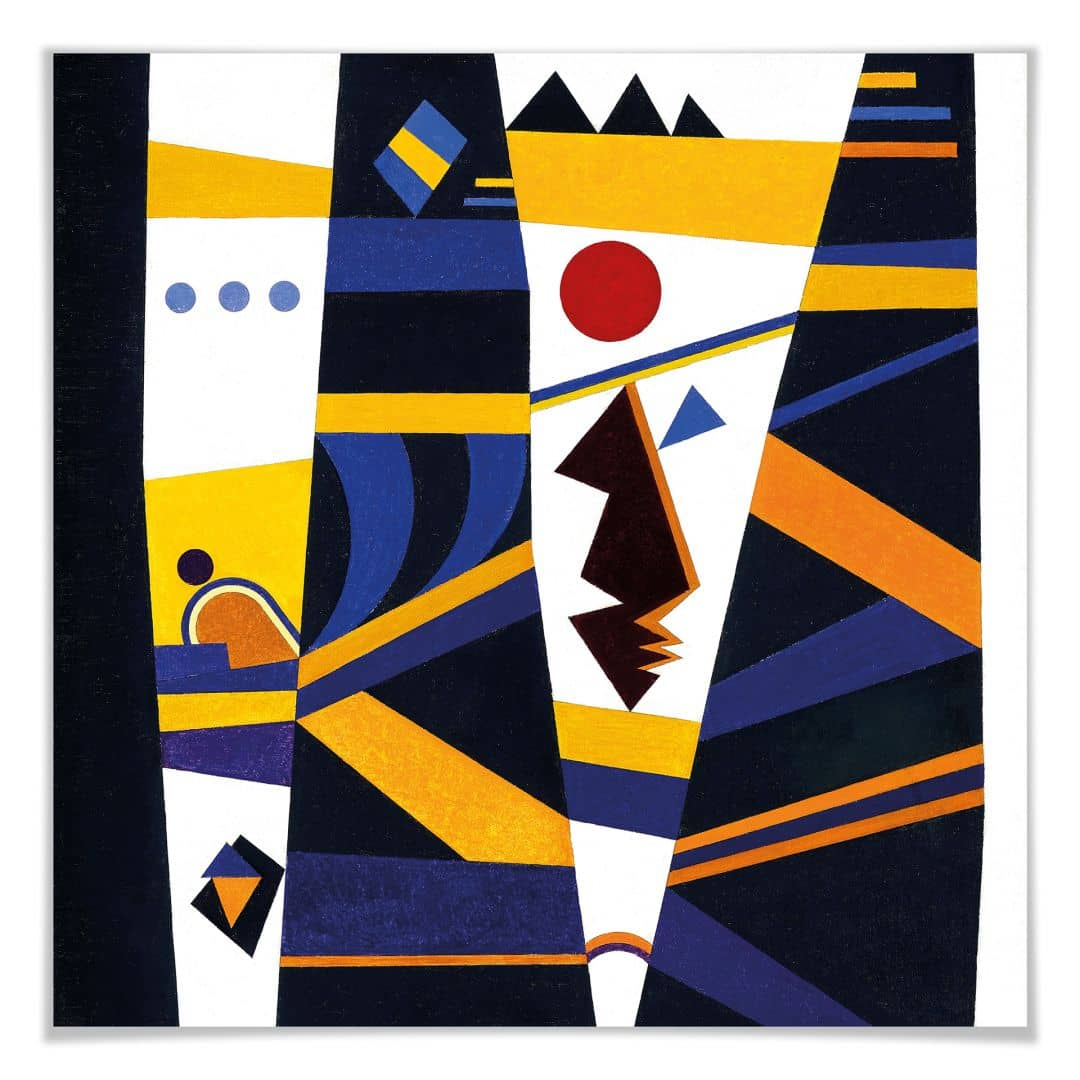 Poster Kandinsky - Bindung