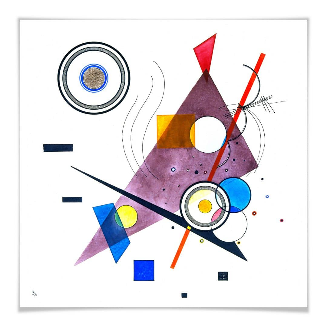 Poster Kandinsky - Komposition II