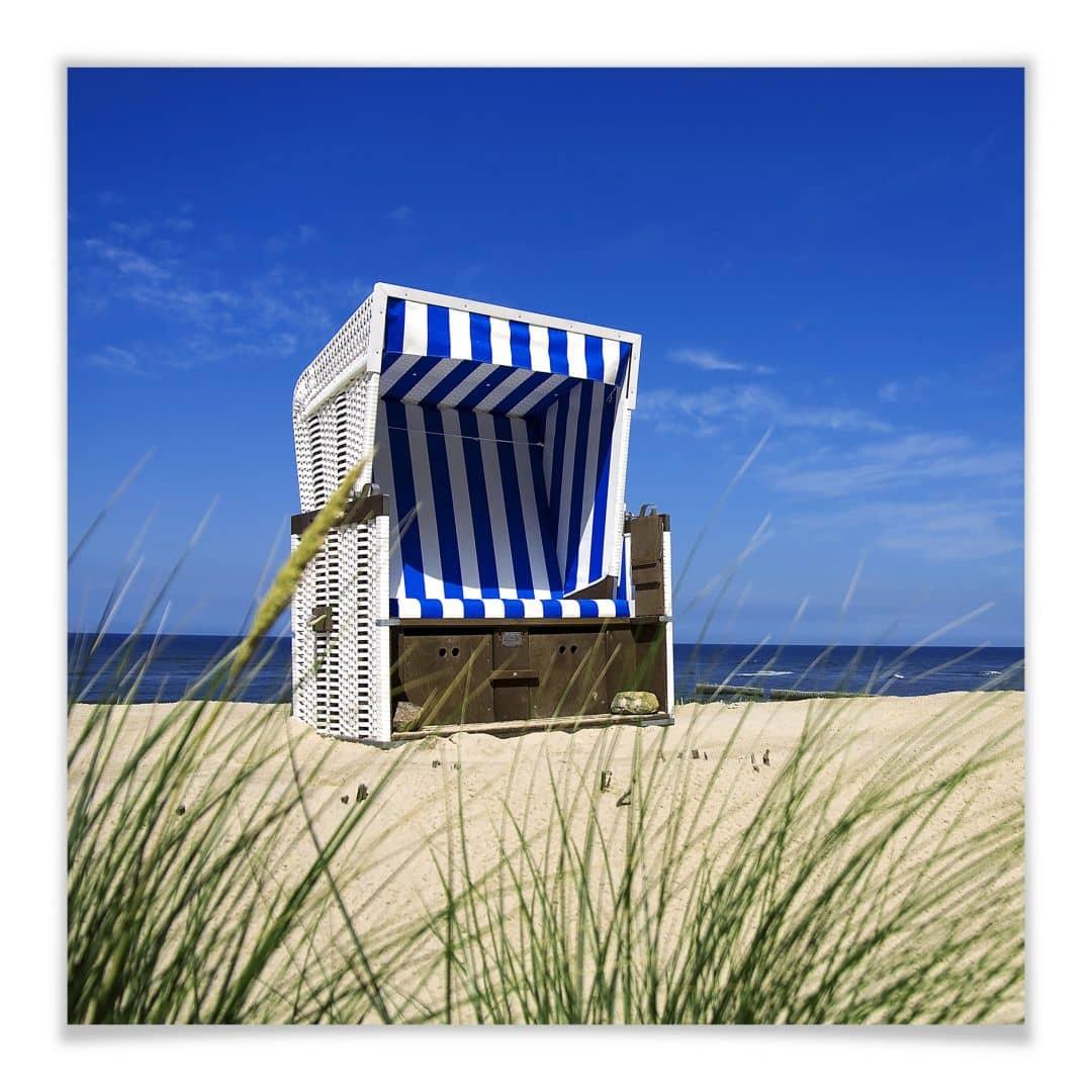 Poster divano da spiaggia quadrato wall - Divano quadrato ...