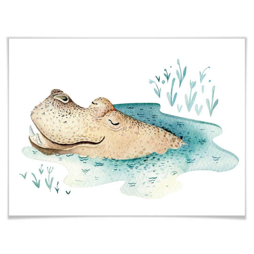 Poster Kvilis - Hippo