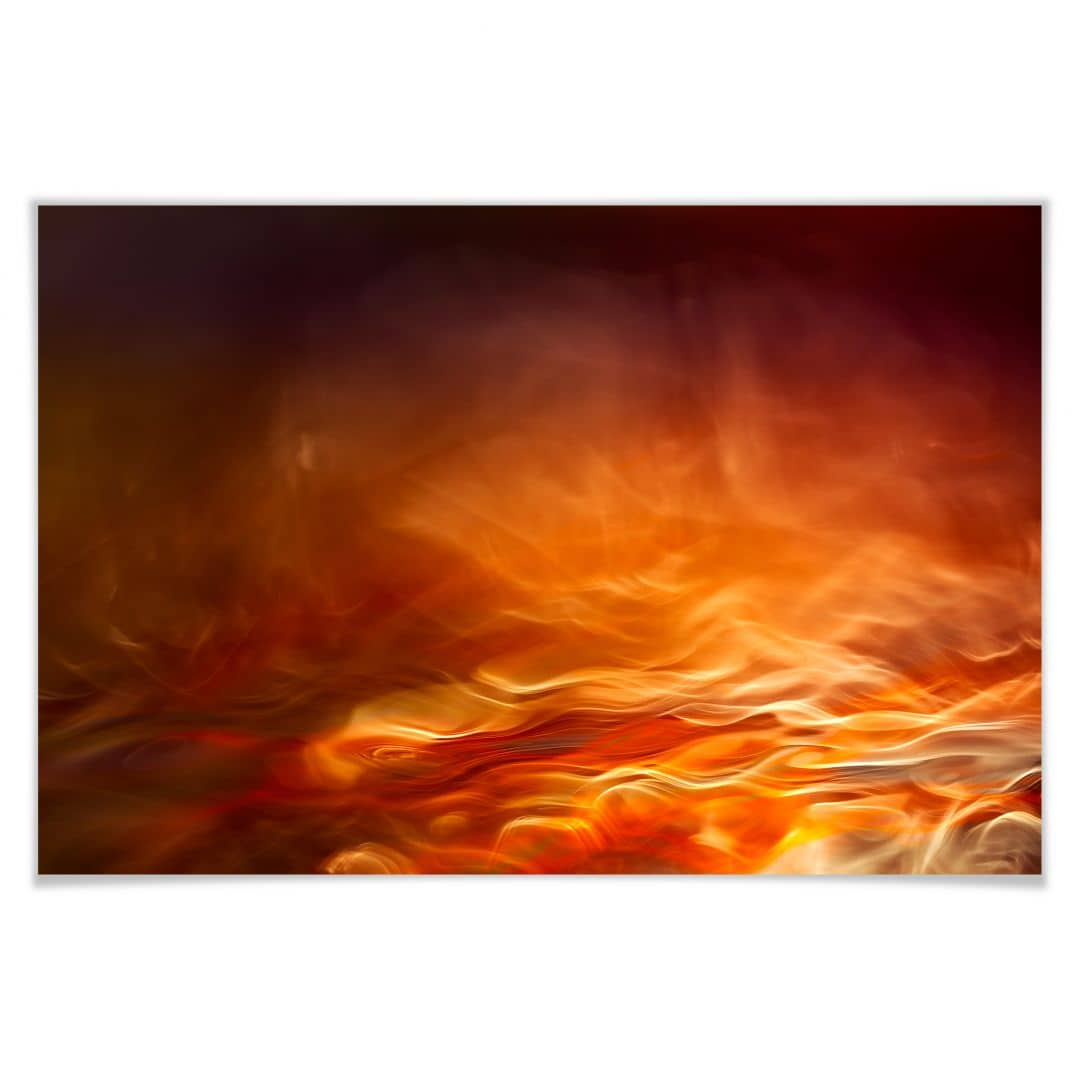 Poster Marthinussen - Burning Water